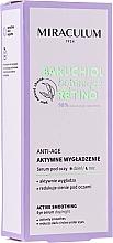 Düfte, Parfümerie und Kosmetik Aktiv glättendes Anti-Aging Serum gegen dunkle Augenringe - Miraculum Bakuchiol Botanique Retino Anti-Age Serum