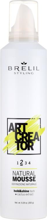 Styling-Mousse Mittlerer Halt - Brelil Art Creator Natural Mousse — Bild N1