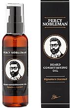 Düfte, Parfümerie und Kosmetik Parfümiertes Bartöl - Percy Nobleman Signature Beard Oil Scented