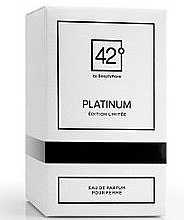 Düfte, Parfümerie und Kosmetik 42° by Beauty More Platinum Edition Limitee Pour Femme - Eau de Parfum