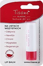 Düfte, Parfümerie und Kosmetik Feuchtigkeitsspendender und regenerierender Lippenbalsam - Farmapol Tisane Classic Lip Balm