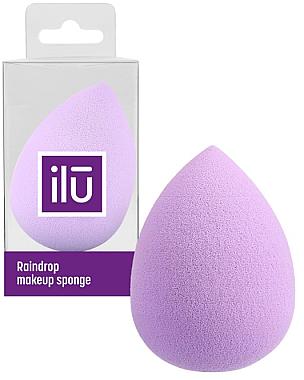 Schminkschwamm violett - Ilu Sponge Raindrop Purple — Bild N1