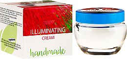 Handgemachte aufhellende und feuchtigkeitsspendende Gesichtscreme - Hristina Cosmetics Handmade Illuminating Cream — Bild N1