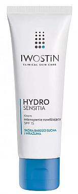 Feuchtigkeitsspendende Gesichtscreme mit Kokoswasser - Iwostin Hydro Sensitia Moisturizing Cream SPF15 — Bild N1