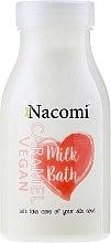 Düfte, Parfümerie und Kosmetik Bademilch mit Karamell - Nacomi Milk Bath Caramel