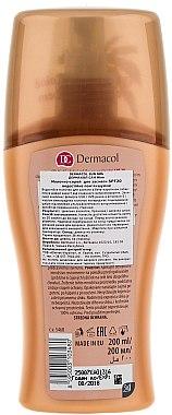 Wasserfeste Sonnenschutzmilch SPF 20 - Dermacol Water Resistant Sun Milk SPF 20 — Bild N2