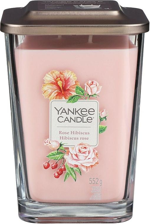 Duftkerze im Glas Rose Hibiscus - Yankee Candle Elevation Rose Hibiscus — Bild N4