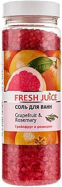 Badeperlen Grapefruit & Rosmarin - Fresh Juice Bath Bijou Rubin Grapefruit and Rosemary — Bild N1