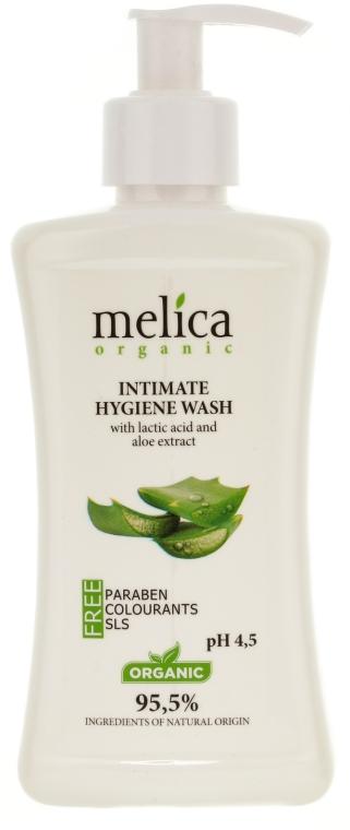 Gel für die Intimhygiene mit Milchsäure und Aloe Vera-Extrakt - Melica Organic Intimate Hygiene Wash — Bild N1