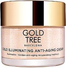 Düfte, Parfümerie und Kosmetik Anti-Aging Gesichtscreme für einen strahlenden Teint - Gold Tree Barcelona Gold Illuminating Anti-Ageing Cream
