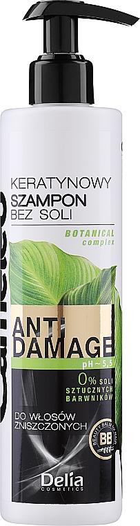 Shampoo mit Keratin für beschädigtes Haar - Delia Cameleo Shampoo