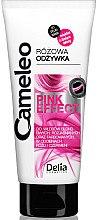 Düfte, Parfümerie und Kosmetik Intensiv regenerierender Conditioner mit rosa Tönung - Delia Cosmetics Cameleo Pink Effect