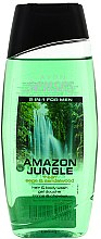 2-in-1 Shampoo & Duschgel für Männer - Avon Senses Amazon Jungle Hair And Body Wash — Bild N2