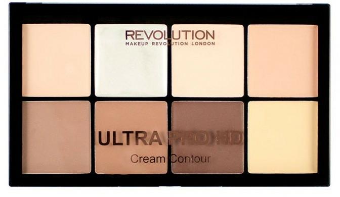 Konturierpalette für das Gesicht - Makeup Revolution HD Pro Cream Contour — Bild N1
