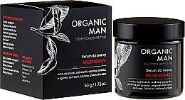 Düfte, Parfümerie und Kosmetik Regenerierendes Gesichtsserum für Männer - Organic Life Dermocosmetics Man