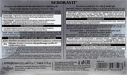 Kopfhaut Komplex mit Extrakten aus schwarzem Rettich - Farmona Seboravit  — Bild N3