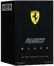 Düfte, Parfümerie und Kosmetik Ferrari Scuderia Ferrari Black - After Shave Lotion