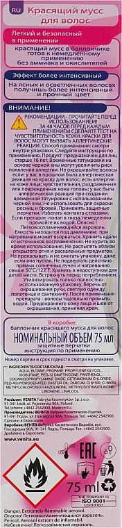 Pflegende Farbmousse - Venita Trendy Color Mousse — Bild N3