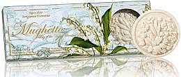 Düfte, Parfümerie und Kosmetik Naturseifen-Geschenkset - Saponificio Artigianale Fiorentino Lily Of The Valley Soap Ischia Collection