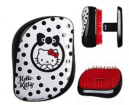 Kompakte Haarbürste - Tangle Teezer Compact Styler Hello Kitty Black Brush — Bild N5