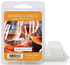 Düfte, Parfümerie und Kosmetik Tart-Duftwax Rose All Day - Kringle Candle Rose All Day Wax Melts