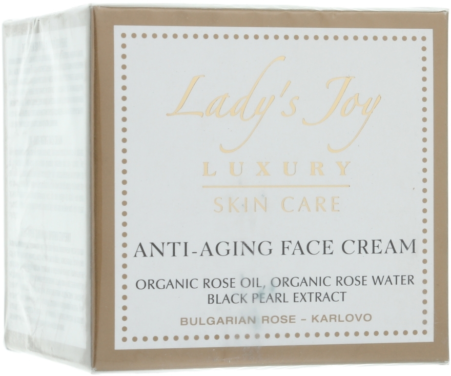 Anti-Aging Gesichtscreme - Bulgarian Rose Lady's Joy Luxury Anti-Aging Face Cream — Bild N1
