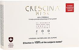 Düfte, Parfümerie und Kosmetik Wiederherstellendes Lotion-Konzentrat zum Haarwachstum für Männer 200 - Crescina Re-Growth HFSC 100% + Crescina Anti-Hair Loss HSSC