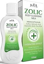 Düfte, Parfümerie und Kosmetik Reinigungsmilch für den Körper - Dr.EA Zolic Body Cleansing Milk