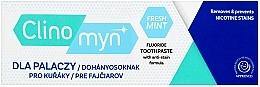 Düfte, Parfümerie und Kosmetik Aufhellende Zahnpasta für Raucher - Clinomyn Smokers Fresh Mint Toothpaste