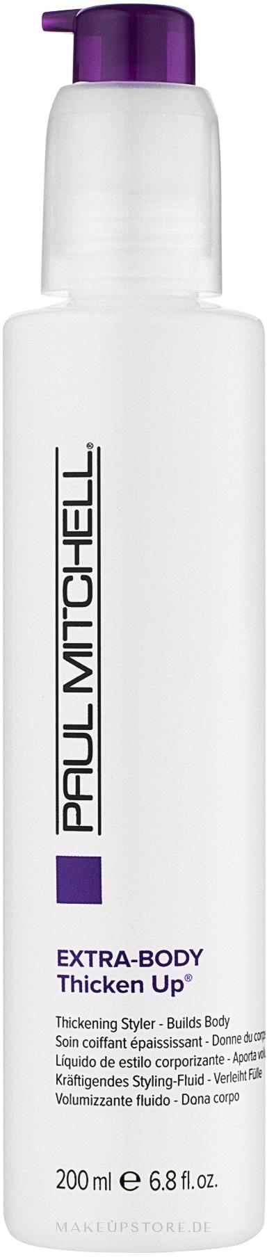 Stylingfluid für mehr Volumen - Paul Mitchell Extra-Body Thicken Up — Bild 200 ml