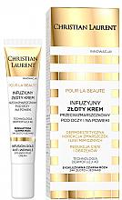 Düfte, Parfümerie und Kosmetik Korrigierende Anti-Falten Augencreme gegen dunkle Augenringe und Schwellungen mit Goldpartikeln - Christian Laurent Pour La Beaute