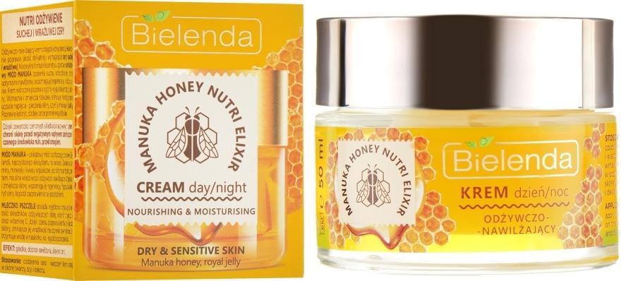 Pflegende Gesichtscreme - Bielenda Manuka Honey Nutri Elixir Day/Night Cream