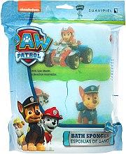 "Düfte, Parfümerie und Kosmetik Badeschwamm-Set ""Paw Patrol"" - Suavipiel Paw Patrol Chase Marshall Ryder Rescue Racers Bath Sponge"