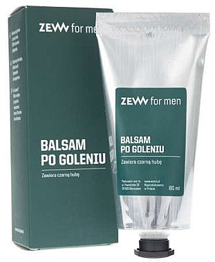 Rasierset - Zew For Men Shaving Kit (Seife 85ml + After Shave Balsam 80ml + Rasierbürste 1St.) — Bild N5