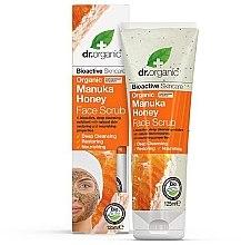 Düfte, Parfümerie und Kosmetik Pflegendes Gesichtspeeling mit Bio Manuka-Honig - Dr. Organic Manuka Honey Face Scrub