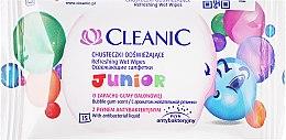 Düfte, Parfümerie und Kosmetik Feuchttücher für Kinder 15 St. - Cleanic Junior Wipes