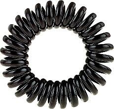 Haargummi schwarz 3 St. - Cosmetic 2K Hair Tie Black — Bild N2