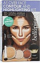 """Düfte, Parfümerie und Kosmetik Konturierset für das Gesicht Medium - Bellapierre All Over Face Contour and Highlighting Kit """"Medium"""""""