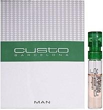 Düfte, Parfümerie und Kosmetik Custo Barcelona Custo Man - Eau de Toilette (Probe)