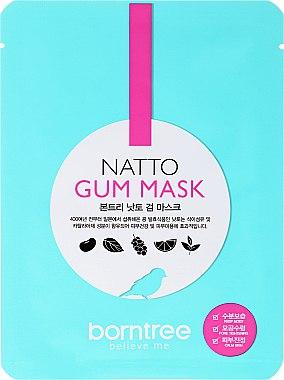 Feuchtigkeitsspendende Anti-Falten Tuchmaske - Borntree Natto Gum Mask — Bild N1