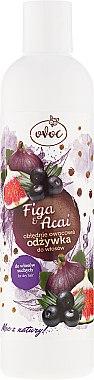 Haarspülung mit Extrakt aus Feigen, Acai und Sheabutter - Ovoc Figa & Acai Conditioner — Bild N1