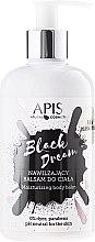 Düfte, Parfümerie und Kosmetik Feuchtigkeitsspendende Körperlotion - APIS Professional Black Dream