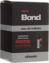 Düfte, Parfümerie und Kosmetik Bond Classic - Kosmetikset (Eau de Toilette/100ml + Deodorant/50ml)