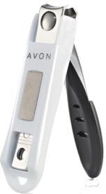 Nagelknipser mit Feile und Nagelhautstift - Avon — Bild N1