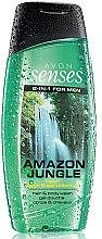 Düfte, Parfümerie und Kosmetik 2-in-1 Shampoo & Duschgel für Männer - Avon Senses Amazon Jungle Hair And Body Wash