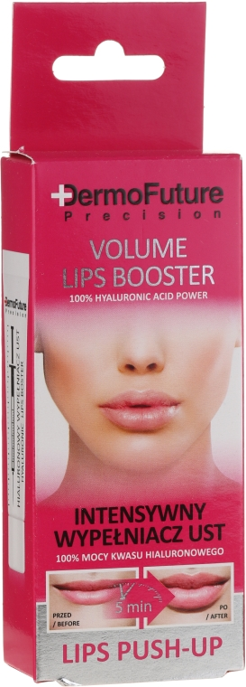 Lippenbooster für mehr Volumen mit Hyaluronsäure - DermoFuture Intensive Hyaluronic Lip Injection