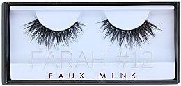 Düfte, Parfümerie und Kosmetik Künstliche Wimpern №12 - Huda Beauty Faux Mink Lash 12