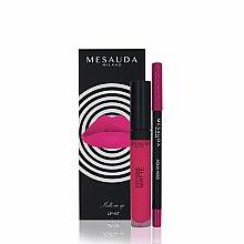 Düfte, Parfümerie und Kosmetik Make-up Set (Lippenstift/7ml + Lippenkonturenstift/1,14g) - Mesauda Milano Lip Kit