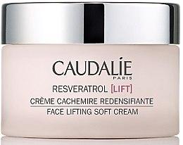 Düfte, Parfümerie und Kosmetik Leichte Feuchtigkeitscreme mit Lifting-Effekt - Caudalie Resveratrol Lift Face Lifting Soft Cream