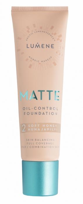 Mattierende Foundation - Lumene Matte Oil-control Foundation — Bild N3